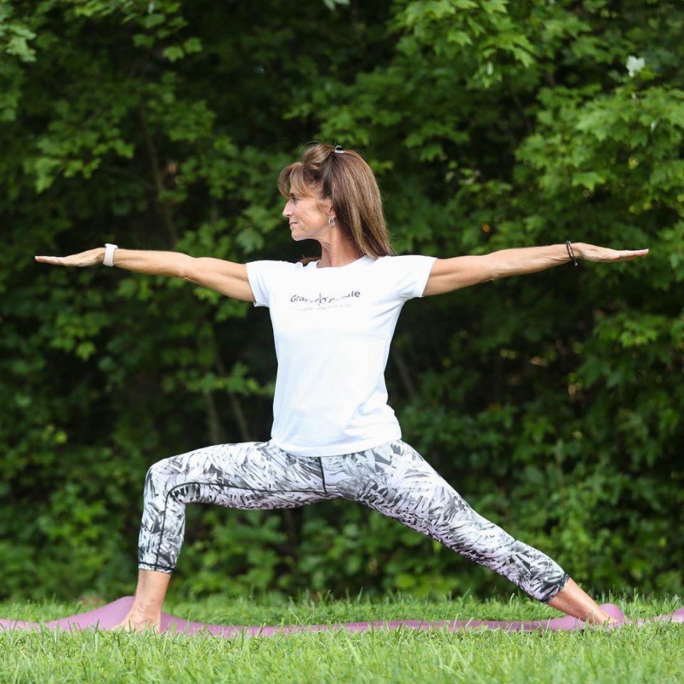 Carol Hewitt of Grace & Exhale Yoga