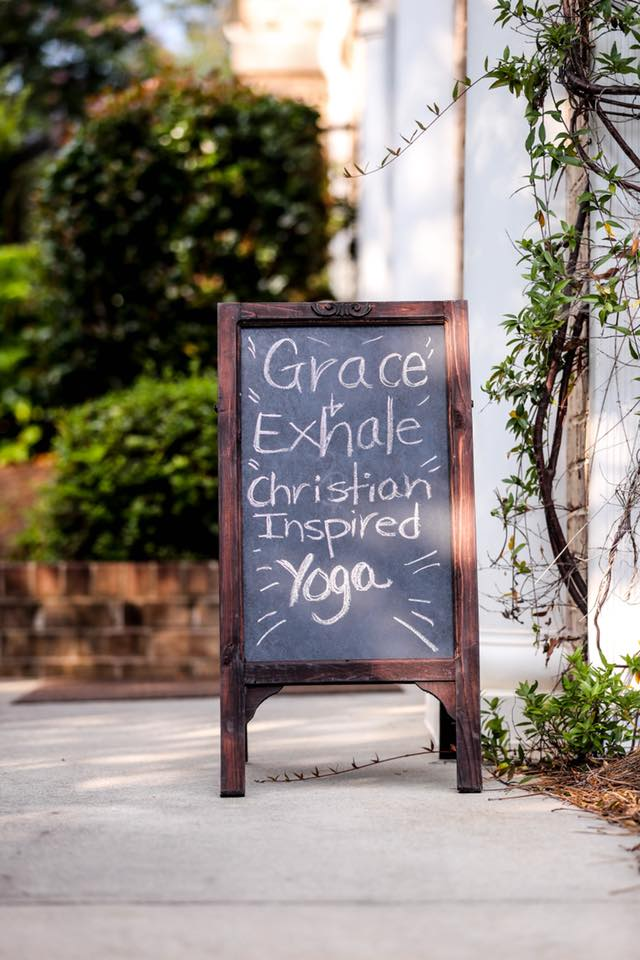 Grace & Exhale Yoga is Christian Inspired